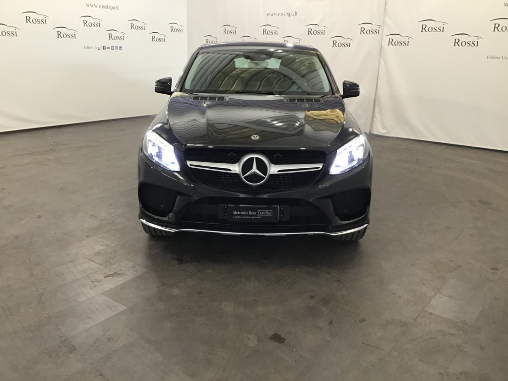 MERCEDES coupe 350d Premium 4matic auto