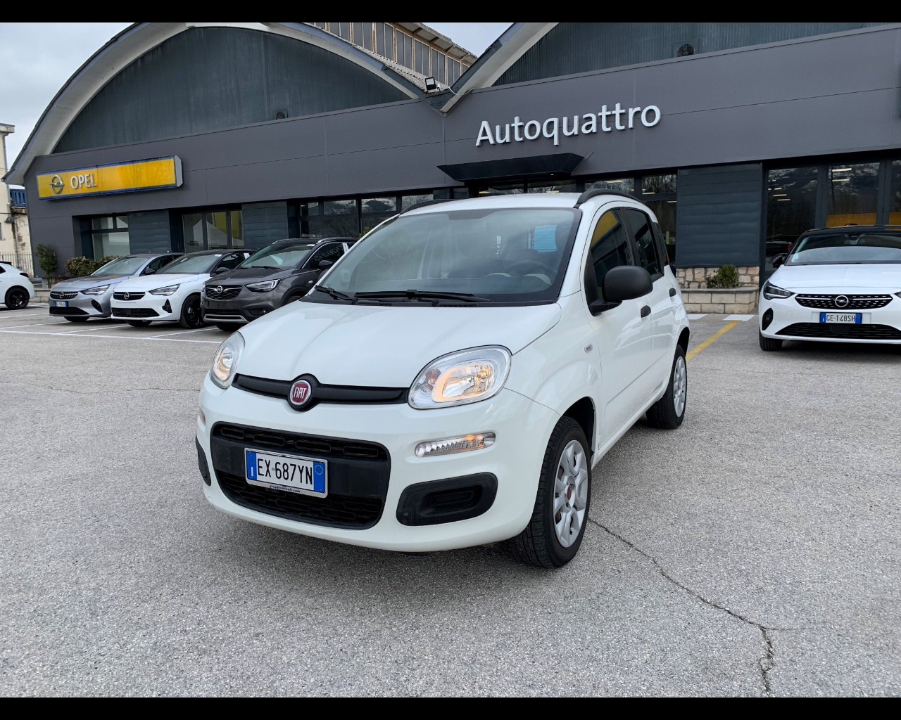 FIAT Panda 0.9 t.air t. natural power Easy 80cv E6
