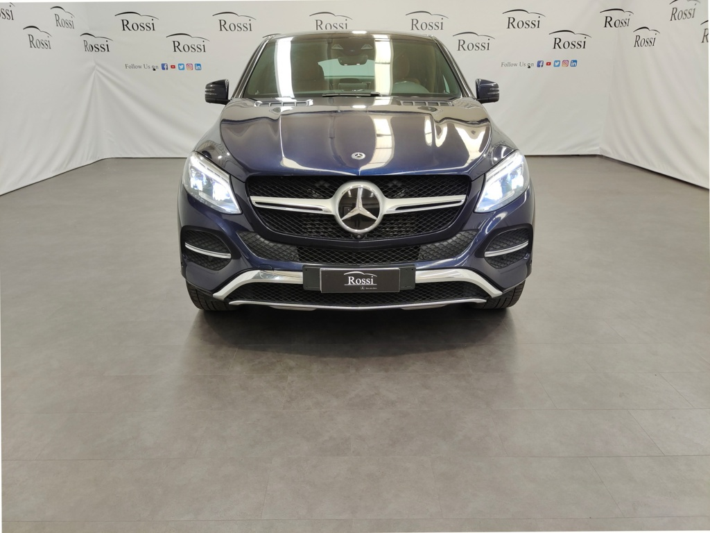 MERCEDES Coupe 350 d Exclusive Plus 4matic auto
